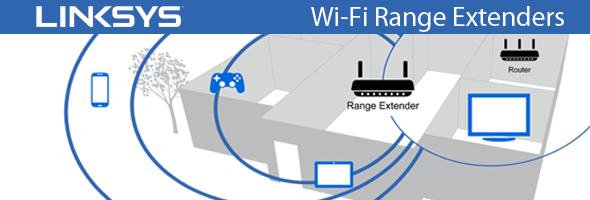 Linksys Wi-Fi Range Extenders